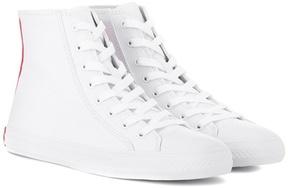 Calvin Klein Printed high-top sneakers