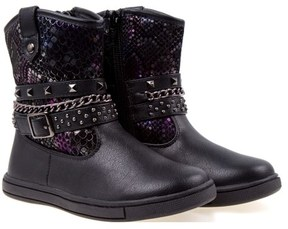 Nanette Lepore Kids' Chain And Buckle Strap Boot Toddler/Preschool