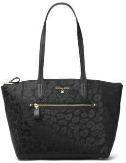 MICHAEL Michael Kors Kelsey Nylon Medium Top-Zip Tote