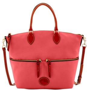 Dooney & Bourke Nylon Large Pocket Satchel - WATERMELON - STYLE