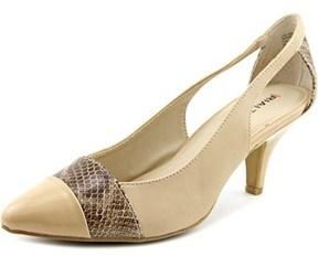 Rialto Madalie Pointed Toe Leather Slingback Heel.