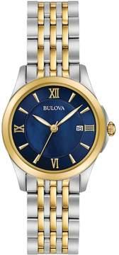 Bulova Women's Classic Two Tone Stainless Steel Watch