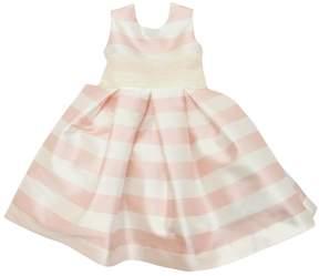 La Stupenderia Striped Taffeta Party Dress