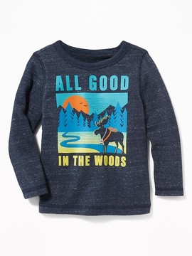 Old Navy All Good in the Woods Terry-Velour Sweatshirt for Toddler Boys