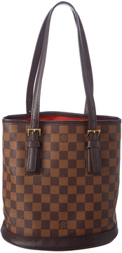 Louis Vuitton Damier Ebene Canvas Marais Bucket Bag - ONE COLOR - STYLE