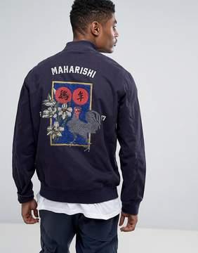 MHI Embroidered Stadium Jacket