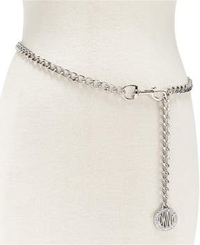 DKNY Logo Chain Link Belt, Created for Macy's