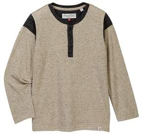 Sovereign Code Wither Henley Tee (Toddler & Little Boys)