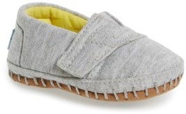 Toms Infant Alpargata Chambray Crib Shoe