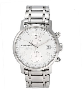 Baume & Mercier Classima 65591 8732 Executive XL Chronograph 42mm Mens Watch