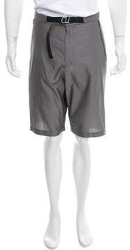 Dirk Bikkembergs Flat Front Bermuda Shorts w/ Tags