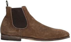 Officine Creative Sofry Choccolat Suede Boots