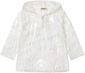 Bobo Choses Clear Bird Print Raincoat