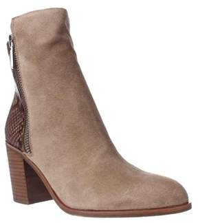 Kenneth Cole Ingrid High Rise Ankle Boots, Natural Multi.