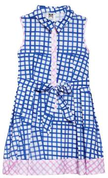 Milly Minis Check Shirtdress