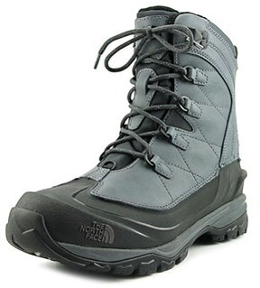 The North Face Chilkat Evo Round Toe Leather Winter Boot.