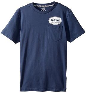 Volcom Foundry Short Sleeve Pocket Tee Boy's T Shirt