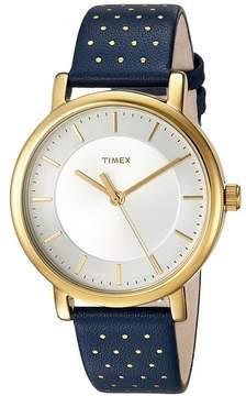 Timex Originals Leather Strap Watches