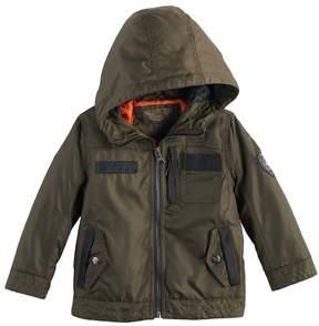 Urban Republic Toddler Boy Oxford Midweight Hooded Jacket