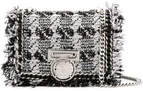 Balmain BBox tweed shoulder bag