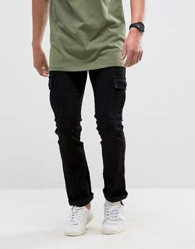 Loyalty And Faith Tapered Cargo Pants Pants in Black
