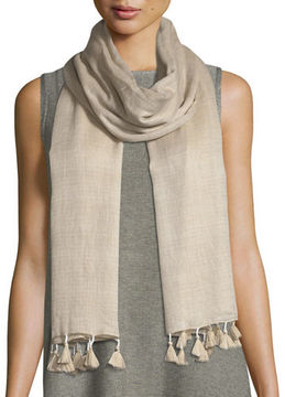 Eileen Fisher Ultra-Soft Wool-Silk Scarf