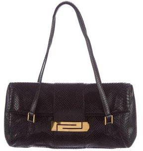 Gianni Versace Snakeskin Shoulder Bag