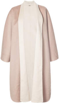 ADAM by Adam Lippes Double-face cashmere reversible cape