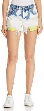 Blank NYC BLANKNYC Bleached Denim Shorts in Now Or Never