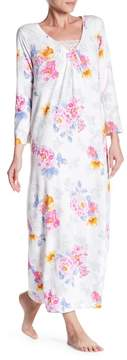 Carole Hochman Long Sleeve Printed Night Gown