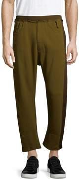 Haider Ackermann Men's Colorblock Cotton Pants