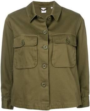 Aspesi double pocket cropped jacket