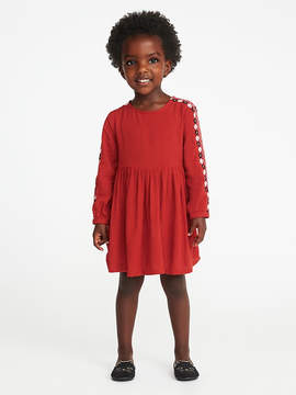 Old Navy Embroidered Dress for Toddler Girls