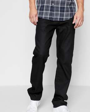 7 For All Mankind Airweft Denim Slimmy with Clean Pocket in Soiree Black