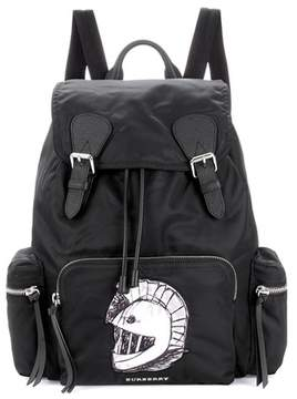 Burberry The Large backpack with Pallas Heads appliqué - BLACK - STYLE