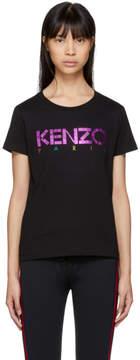Kenzo Black Limited Edition Holiday Logo T-Shirt