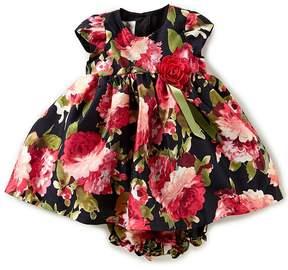 Laura Ashley London 12-24 Months Floral-Print A-Line Dress