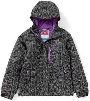 Columbia Big Girls 7-16 Magic Mile Printed Hooded Jacket