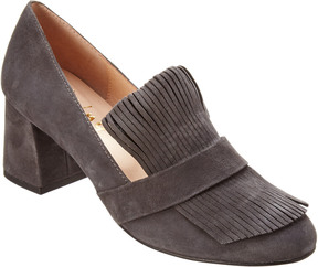 French Sole Cabarnet Suede Pump