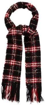 Burberry Wool Plaid Scarf