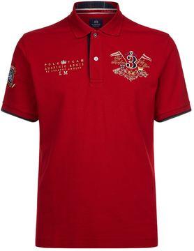 La Martina Cotton Pique Polo Shirt