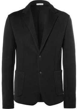 Balenciaga Black Cotton-Blend Jersey Blazer