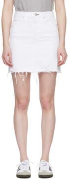Amo White Denim Gemma Skirt