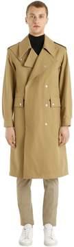 Maison Margiela Heavy Cotton Twill Military Coat