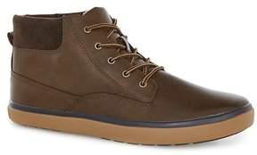 Topman Brown Parker Cuff Boots