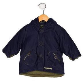 Catimini Boys' Hooded Zip-Up Coat w/ Tags