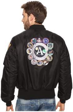 Alpha Industries Apollo MA-1 Flight Jacket Men's Coat