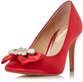Head Over Heels *Head Over Heels by Dune Red 'Addore' High Heel Shoes