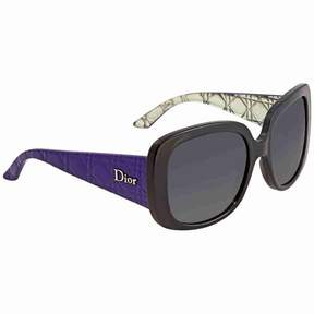 Christian Dior Grey Gradient Square Sunglasses LADYLADY10/S 0NQJ