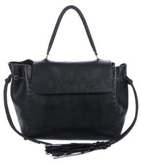 Lanvin Pebbled Leather Satchel
